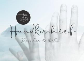 Handkerchief Font