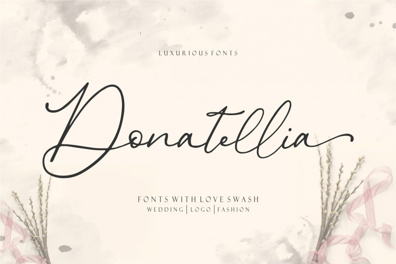 Donatellia - Signature Fonts