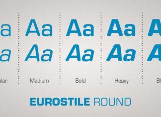 Eurostile Round Font Family