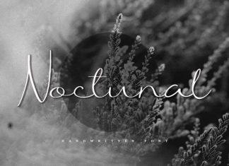 Noctunal Script Font