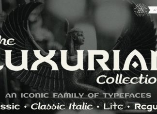 Luxurian AOE Font Family