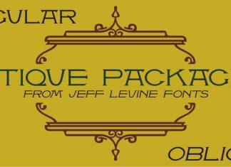 Antique Packaging JNL Font Family