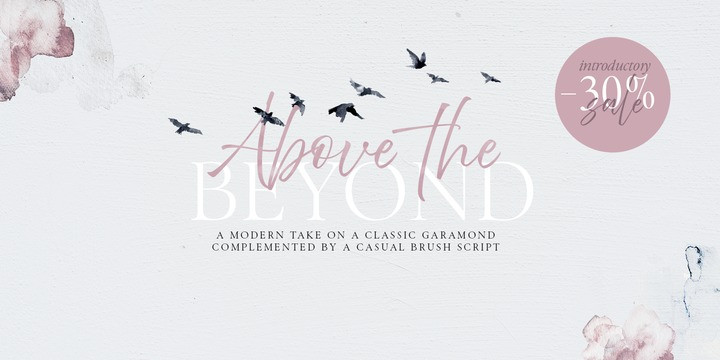 Above the Beyond Font Family