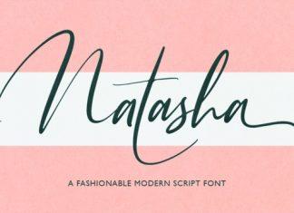 Natasha Modern Script Font