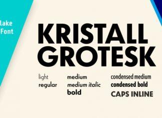 Kristall H MfD Pro Font Family