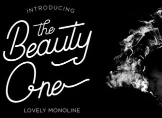 Beauty One Font