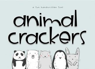 Animal Crackers Font