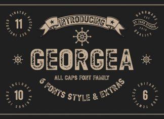 Georgea  Sans Serif Font
