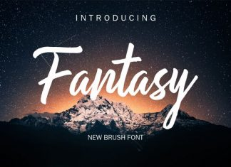 Fantasy Script Font