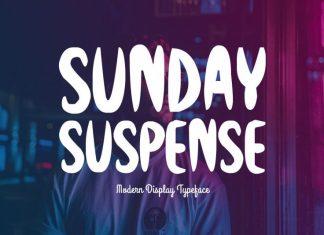 Sunday Suspense Regular Font