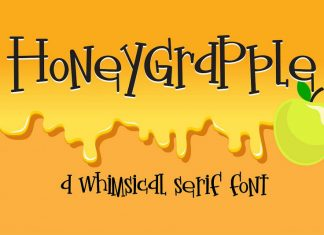 Honeygrapple Regular Font