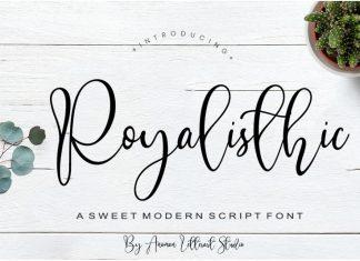 Royalisthic Script Font