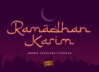 Ramadhan Karim Font