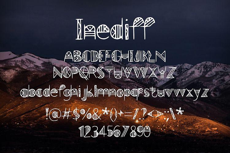 Inediff Blackletter Font