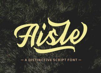 Aisle Font
