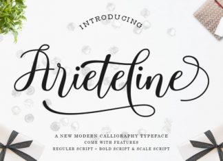 Ariteline Script Font
