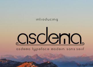 Asdema Font