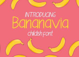 Bananavia Font
