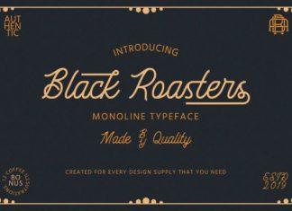 Black Roasters Font