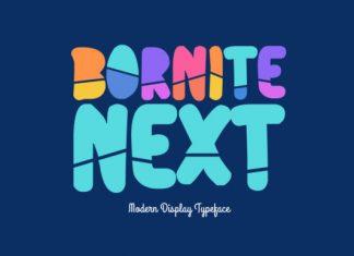 Bornite Next Font