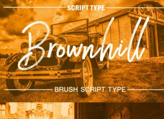 Brownhill Font
