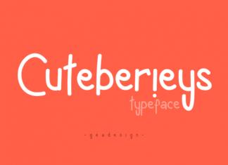 Cuteberieys Font