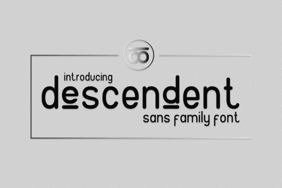 Descendent Font