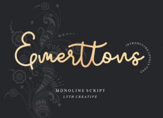 Emerttons Font