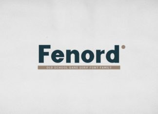 Fenord Font