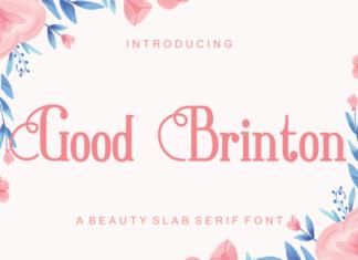 Good Brington Font