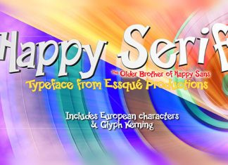 Happy Serif Font