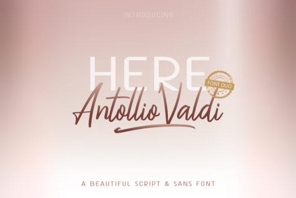 Here Antollio Valdi Duo Font