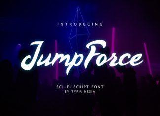 Jump Force Font