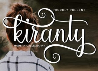 Kiranty Font