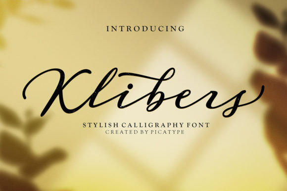Klibers Font