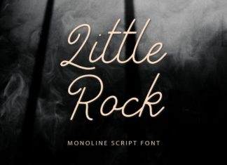 Little Rock Font