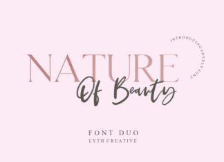 Nature of Beauty Duo font