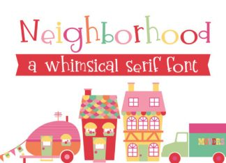 PN Neighborhood Font
