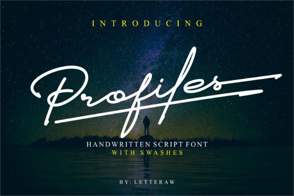 Profiles Font
