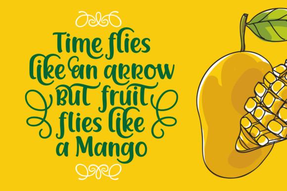 Racy Mango Font