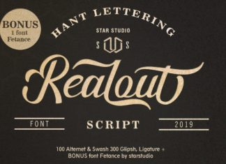 Realout Font