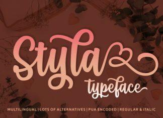 Styla Font