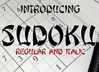 Sudoku Font