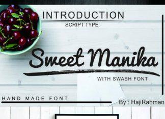Sweet Manika Font