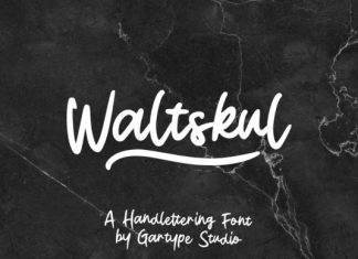 Waltskul Font