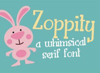 Zoppity font