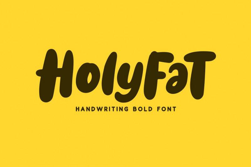 Holyfat Font