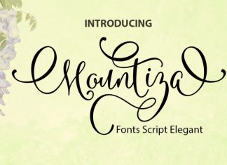 Mountiza Script Font