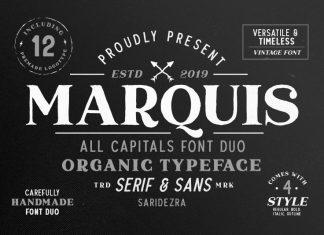 Marquis - Organic Font