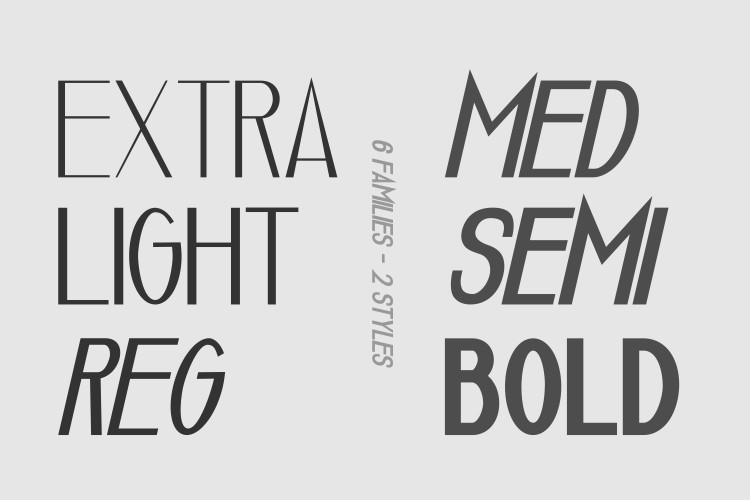 Luxuria // A Luxury Font FamilyRegular Font